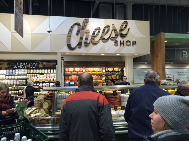 More than 200 cheeses available at Cheese Shop