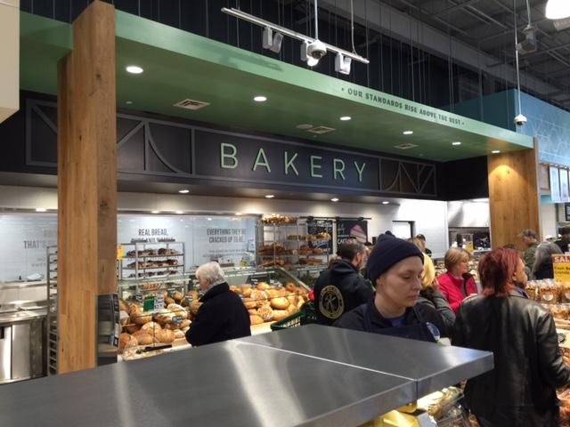 In-store bakery
