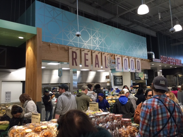 Freshly-prepared foods available for pick-up