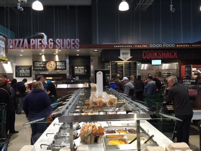 Whole Foods Market salad and hot food bar