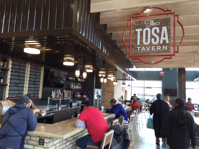 The Tosa Tavern featuring 20 beers on tap